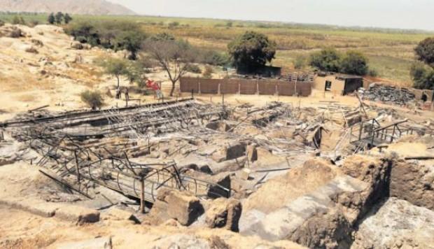Un incendie au Pérou détruit des vestiges archéologiques datant de plus de 2000 ans
