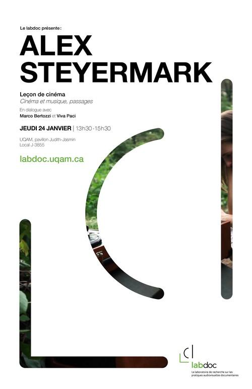 Leçon de cinéma avec Alex Steyermark : cinéma et musique, passages ; en dialogue avec Viva Paci