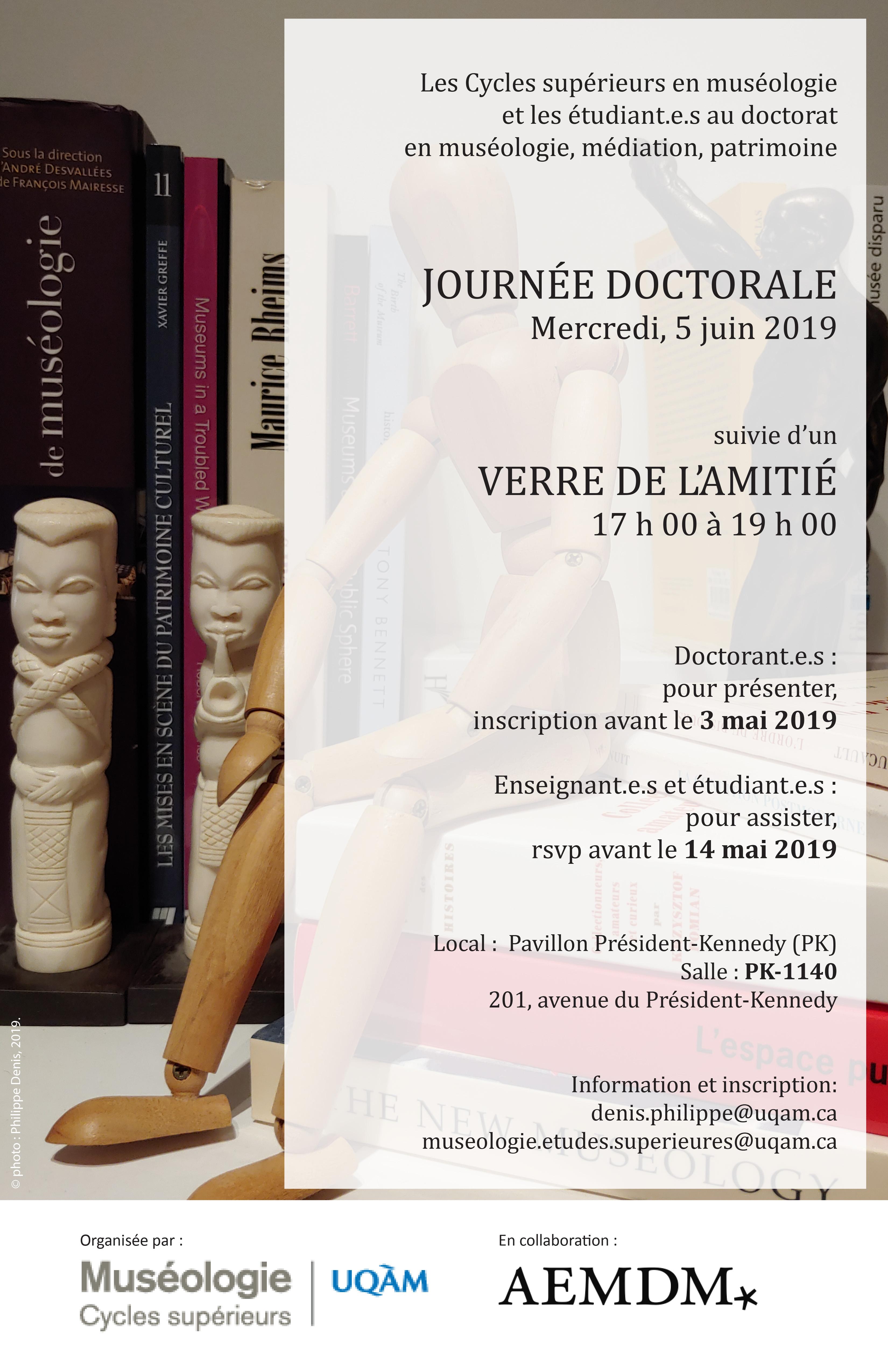 Journée doctorale en muséologie